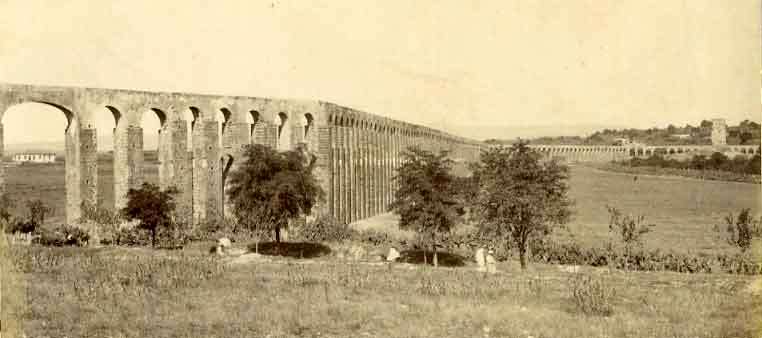 zaghouan aqueduc-1900 encyclopedie-afn.org